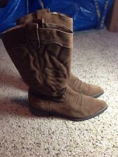"Women's  boots  ""Giddy Up""  Roxy Size 9 Brown Suede KED"