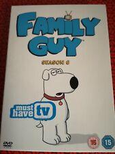 Family Guy Series 6 Season 6 (DVD Box Set) Very Good Condition (White Case)