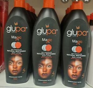 Glupa Magic Glow Hot Chocolate Natural Whitening Lotion 600ml
