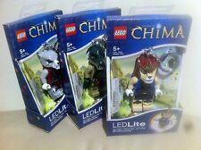 New LEGO Chima Laval , Worriz & Cragger Key Light by Santoki Combo