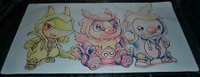 Snivy & Tepig & Oshawott Playmat Starter Pokemon TCG Trading Card Game Play Mat