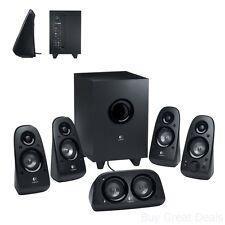 Logitech Z506 Speaker System, 5.1 Surround Sound Home Theater Speaker System New