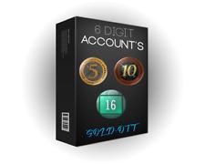 STEAM ACCOUNT (6 Digit, 2003, 16 Years)   CS:GO 10/5 YEAR COIN (+OE)