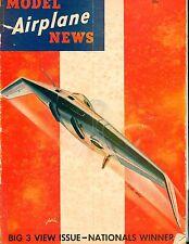 Model Airplane News Magazine January 1942 Big 3 View ACC 040817nonjhe