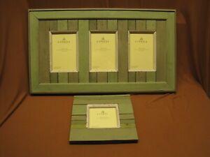 "Cypress Home Triple Picture Frame 22"" x 13"" & BONUS Frame Greens SPRING Photos"