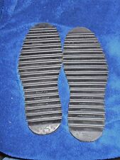 VIBRAM RIPPLE BOOT SOLES REPLACEMENT SET FOR DESERT & SAND USE 9 thru 12 SOLES