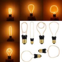 Dimmable Vintage Retro E27 220V Filament Edison Antique LED Light Bulb Lamps RD