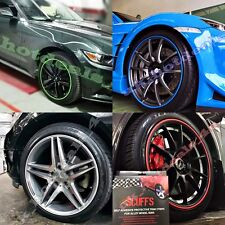 UK SCUFFS Rimblades Car Tuning Alloy Wheel Rim Protectors Tire Guard Line Rubber