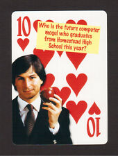 Steve Jobs Apple Computers Neat Playing Card #2Y7
