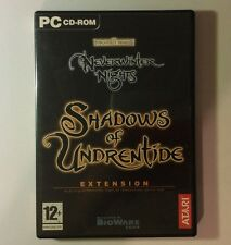 Jeu PC SHADOWS OF UNDRENTIDE Extension du Jeu NEVERWINTER NIGHT Forgotten Realms