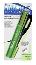 Maybelline Define-A-Lash Lengthening Mascara Washable #801 Very Black