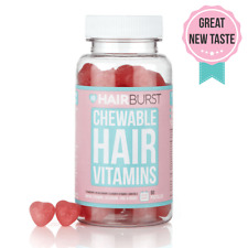 Hairburst vitamins for Hair Growth Chewable Heart - 60  Natural Supplement .