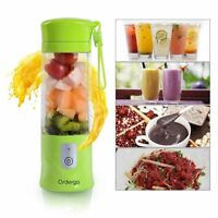 Mini Portable USB Electric Fruit Juicer Smoothie Maker Blender Rechargeable