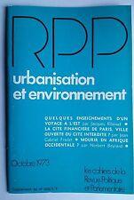 Revue Politique et Parlementaire 10/1973; Mourir en Afrique occidentale