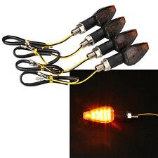 4Pcs Universal Motorcycle Motorbike Turn Signal LED Indicator Blinker Light Lamp
