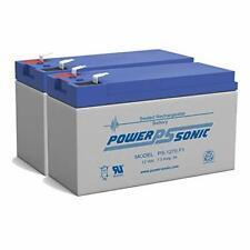 PS-1270 - POWER-SONIC 12V 7AH SLA BATTERY - PACK OF 2