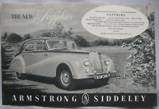 Automobiles 1955 Armstrong Siddeley Letterhead Coventry Marriott Brothers Sheffield Attic British