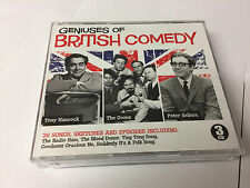 3 CD Set Geniuses of British Comedy Hancock The Goons & Sellers