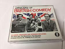 3 CD Set Geniuses of British Comedy Hancock The Goons & Sellers