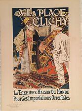 """GRASSET EUGÈNE """"A LA PLACE CLICHY"""" 1896"""
