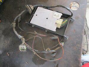 81-87 K5 BLAZER JIMMY 4X4 V8 ENGINE CONTROL COMPUTER W/ WIRE HARNESS OEM