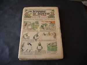 SEMAINE DE SUZETTE ANNÉE COMPLÈTE 1916 (1 A 52 )