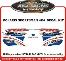 2004 POLARIS  Sportsman 700 Twin  4X4 Decal kit  reproductions