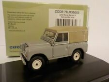 Land Rover Series 3 Canvas - Grey, Oxford Diecast 1/76 New Release