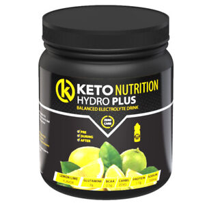 Keto HydroPlus Electrolyte Drink - Zero Carb with BCAA