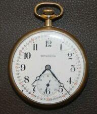 Watch . It Runs New listing Antique Burlington Illinois Pocket