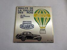 1990 Club Delahaye Rallye de la Vallee des Rois Car Club Rally Badge Emblem