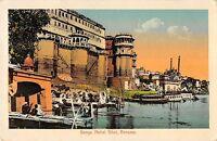 B96119 ganga mahal ghat benares   india