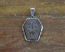 Gold Pendant by Lee Bennett Vintage Sterling Silver and 14K
