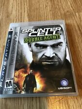 Tom Clancy's Splinter Cell: Double Agent (Sony PlayStation 3, 2007) Ps3 VC7