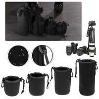 Shockproof Waterproof DSLR Camera Lens Pouch Bag Protective Case For Canon Nikon