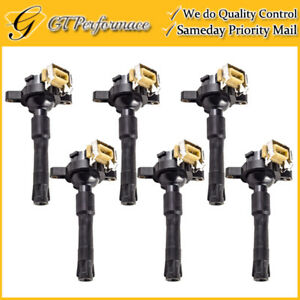 OEM Quality Ignition Coil 6PCS for BMW 323i 325i 328i 330i 525i 528i 530i M3 M5