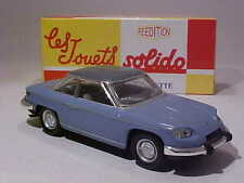 4 INCH Panhard 24CT 1964 Solido 1/43 Diecast Mint in Numbered Box