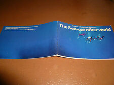 THE SEA- OUR OTHER WORLD Brooke Bond Tea Cards Album with cards