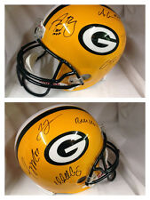 Green Bay Packers NFL Autographed Team Multi Signed Full Size Helmet  Rodgers +