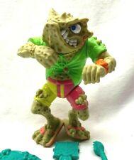 Vtg TMNT Ninja Turtles NAPOLEON BONAFROG Figure w Accessories-1990 Playmates NM