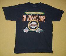 Vtg 80s 1989 SAN FRANCISCO GIANTS Baseball Team WORLD SERIES T-SHIRT Sz Adult XL