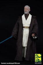 "AFS A009 1/6 Star Wars Jedi Warrior Obi-Wan Suits Clothes F/12"" Male Body Figure"