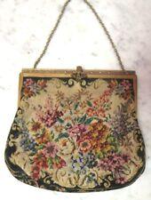 "Antique Austria Tapestry Purse, 6"" x 7"", Ec Lot 175"