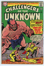 JERRY WEIST ESTATE: CHALLENGERS OF THE UNKNOWN #30 & 52 (VG) (DC 1963-66)