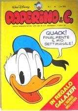 PAPERINO & C. - N. 1 - 5 LUGLIO 1981 - contiene  L'AEREO GALAXER