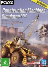 Construction Machines Simulator 2016 PC Game NEW