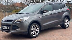 2013 (13) FORD KUGA 2.0 TDCi ZETEC 4X2 SUV GREY SALVAGE DAMAGED REPAIRABLE