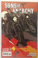 Sons Of Anarchy Comic Book #7 Samcro First Series 1st Print NM