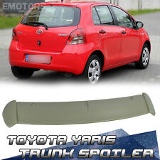 Unpaint For Toyota Yaris 2nd Hatchback XP90 Rear Roof Spoiler CE RS 2011