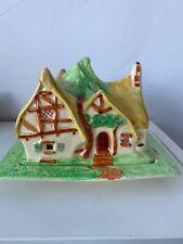 Nouvelle annonce Très rare wadeheath ART DECO Snow White & Seven Dwarfs Cottage cheese dish 1930 ...